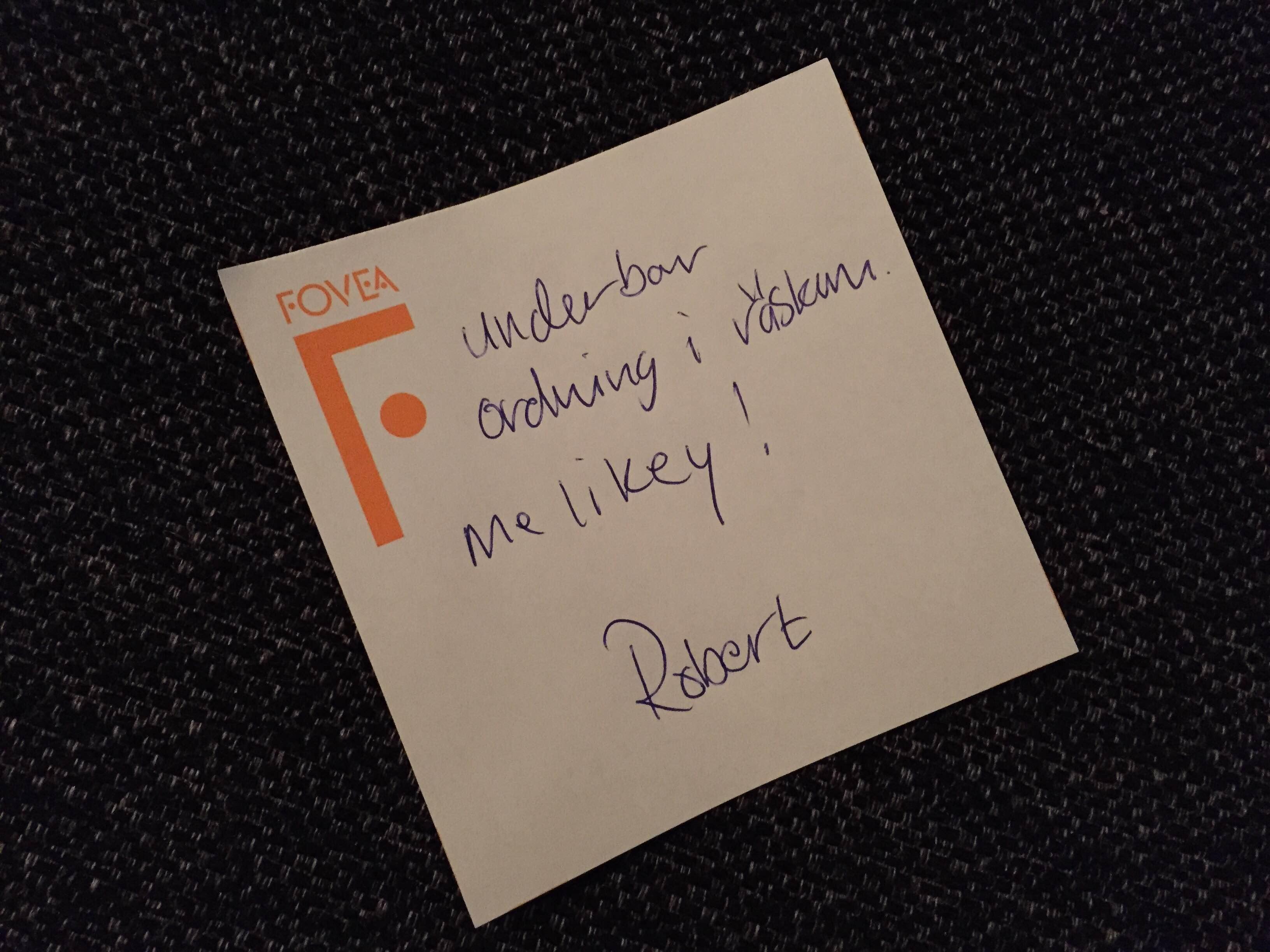 Från Mr Robban